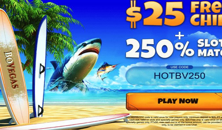 $25 Free Chip – BoVegas