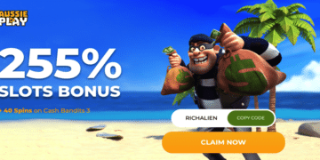 cash bandits 3 bonus code - aussie play