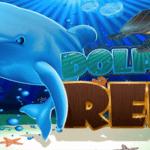machine à sous vidéo de récif de dauphin