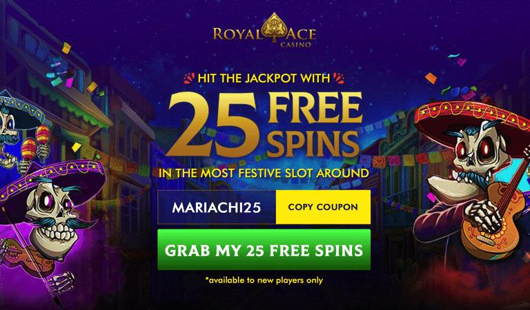 Mariachi 5 Bonus Code – Royal Ace