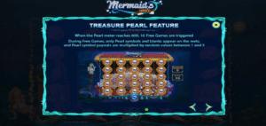 Mermaid's Pearl slot funktion