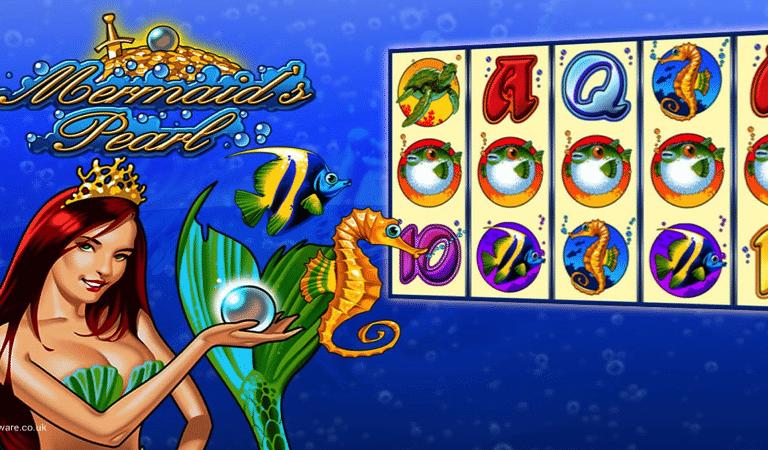Mermaid's Pearl Video Slot Casino Bonus