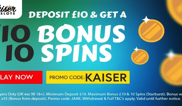 Starburst Bonus Code – Kaiser Slots