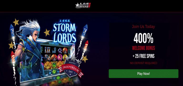 storm lords bonus code las vegas usa