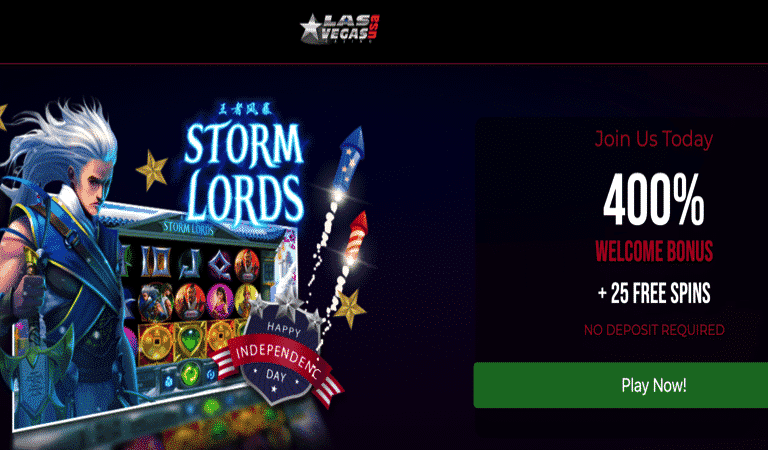Storm Lords Bonus Code – Las Vegas USA