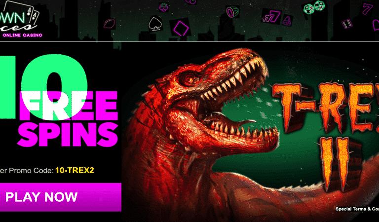 T-Rex 2 Bonus Code – Uptown Aces