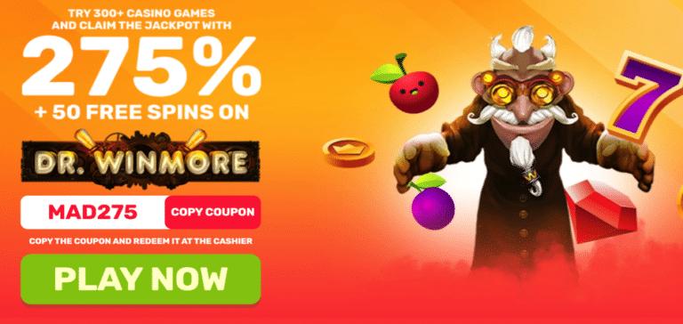 dr winmore bonus code