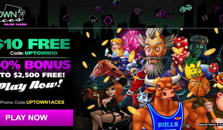 10$ Free No Deposit – Uptown Aces