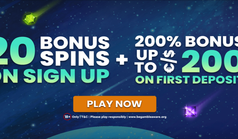 20 Spins on Signup for Starburst – Extraspel