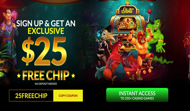 $25 Free Chip on Lucha Libre – Planet7