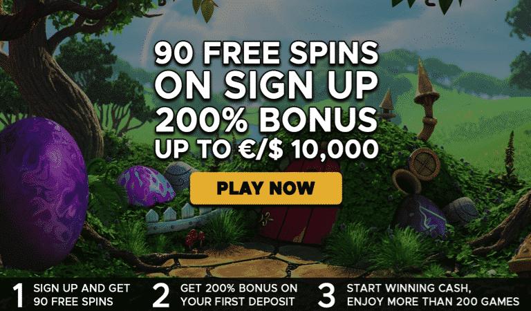 90 Spins Registration Bonus – Extra Vegas