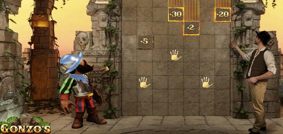 gonzo's quest treasure hunt game