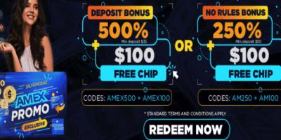 amex ndb bonus codes silveredge casino