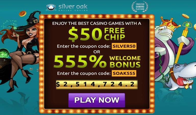 $50 Free Chip on Bubble Bubble Slots – SilverOak