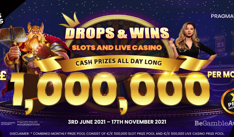 3rd June – 17 Nov 21′ Drops & Wins Promotion by Pragmatic Play