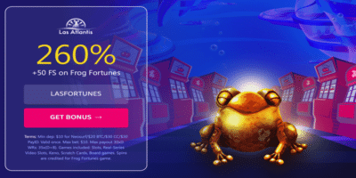 frog fortunes bonus code deposit