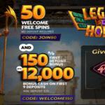 legend of horus bonus code