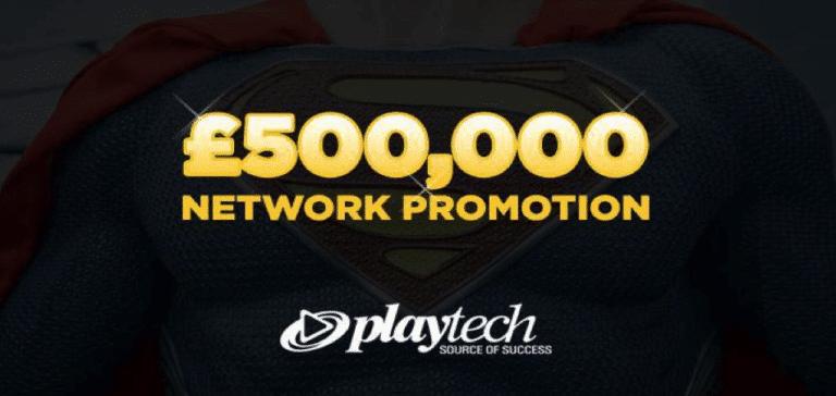 playtech £500K cash giveaway