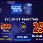 amex promo codes funclub casino