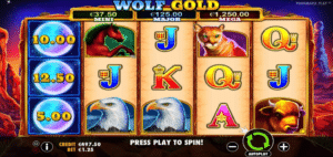 ulv guld spil