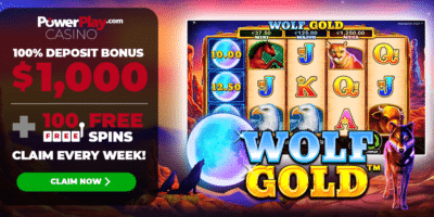 Wolf Gold 100 Free Spins PowerPlay