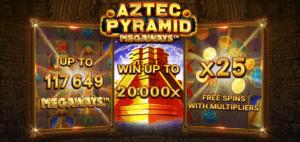 Aztec Pyramid Megaways - victoire potentielle