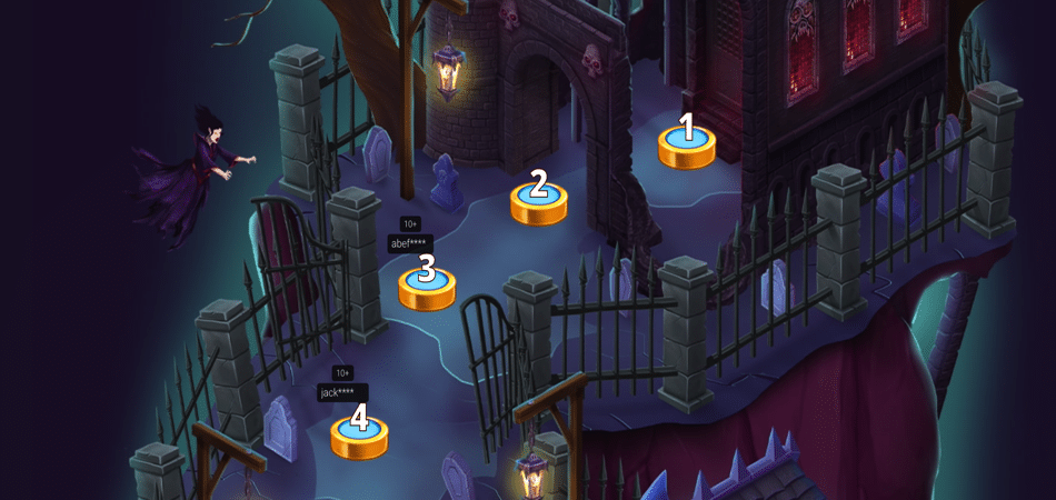 Dracula's Treasure Promo Steps to follow